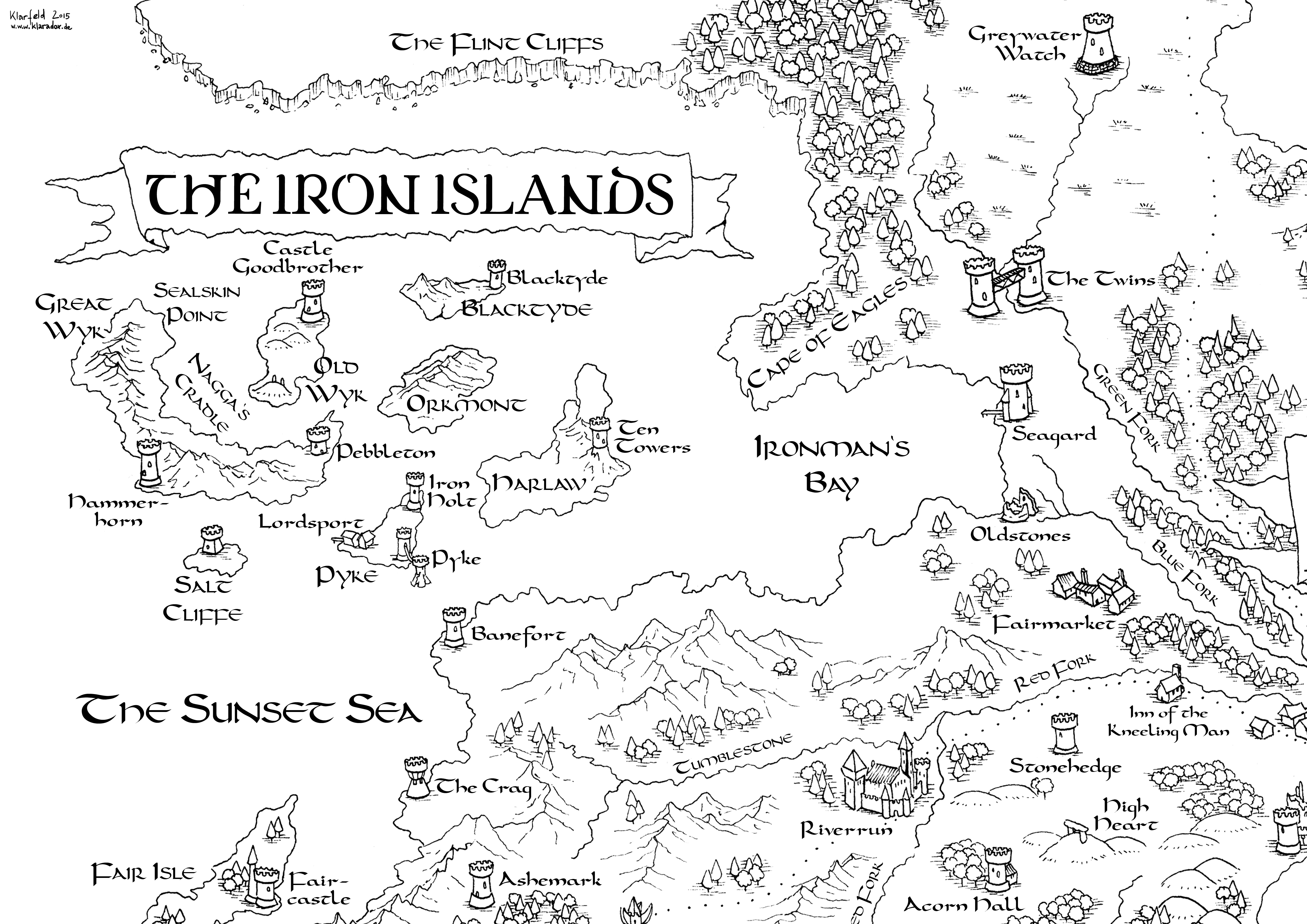 It is a graphic of Game of Thrones Printable Map with interactive