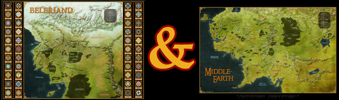 Middle-Earth and Beleriand- Download